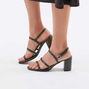 UO STRAPPY HEEL